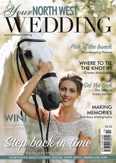 Issue 64 of Your North West Wedding magazine