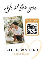 View a flyer to promote Your North West Wedding magazine