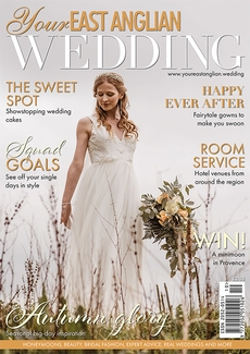 Cover of the October/November 2021 issue of Your East Anglian Wedding magazine