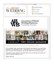 Your North West Wedding magazine - October 2021 newsletter
