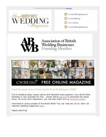 Your North West Wedding magazine - May 2021 newsletter