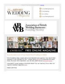 Your North West Wedding magazine - July 2021 newsletter