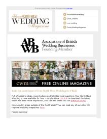 Your North West Wedding magazine - September 2021 newsletter