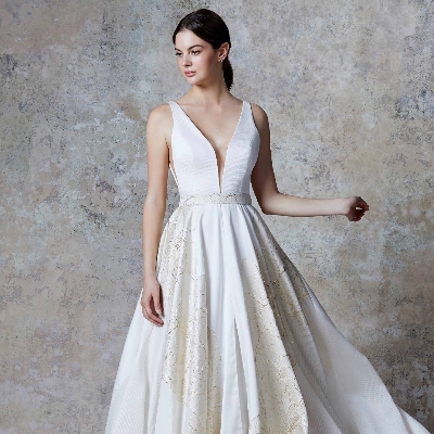 Elisa Belle Bridal explain how you can include hints of gold into your dress