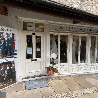 Find out more about A Family Affair Bridal and Menswear Ltd