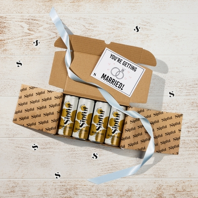 Sipful has launched a range of wedding bundles