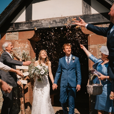 Ceara and Chris tied the knot in a beautiful ceremony at St Catherine's Church