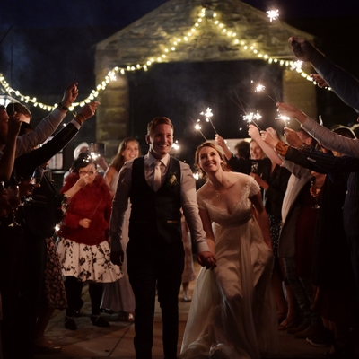 Eve and Jonny tied the knot in a fun-filled celebration at New House Farm