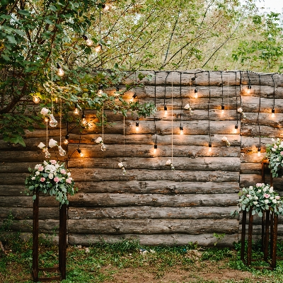 How to transform an outdoor space for your wedding