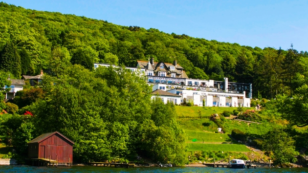 The lake at The Beech Hill Hotel & Spa, Cumbria