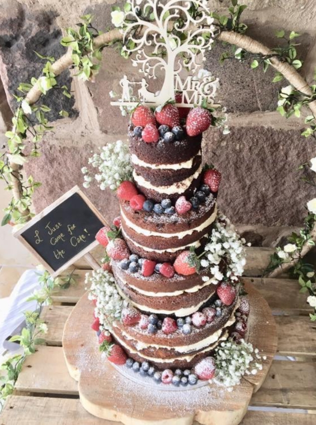 Winter-inspired cake flavours