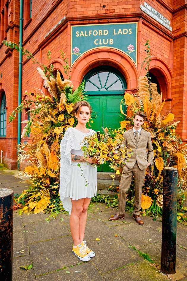 Salford Lads Club is now licensed to hold weddings