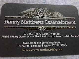 We talk to Danny Matthews Entertainment