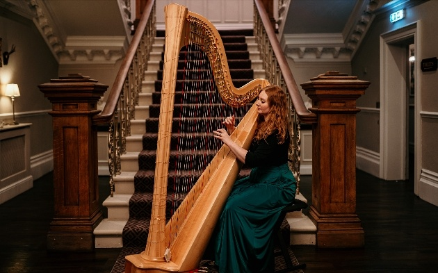 Local harpist gives her top tips for booking wedding suppliers online