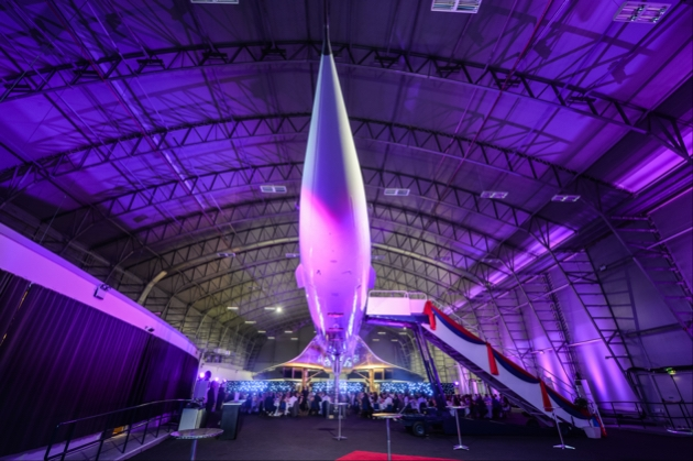 Say your vows at the Concorde Conference Centre