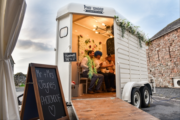 Meet the owner of the mobile horse box photo booth, Photohoof