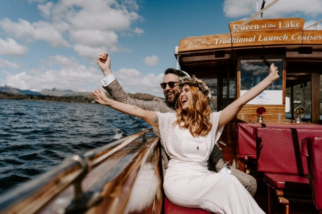 Celebrate your wedding day with a cruise along Lake Windermere